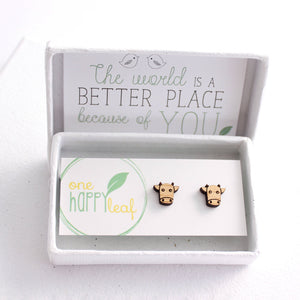 bull studs, bull jewellry, cow jewellery, gift for farmer