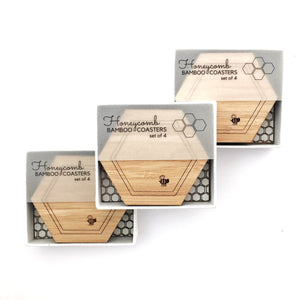 Honeycomb coasters (set of 4)