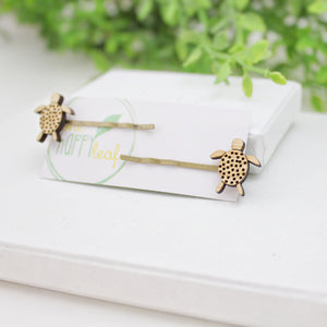Turtle bobby pins