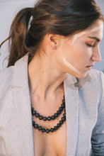 Load image into Gallery viewer, Yagazie Necklace - Matte Black
