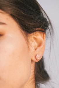 Simí Earrings - Old Pink