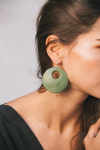 Yo Earrings - Green