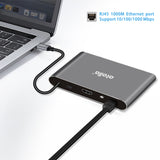 atolla 8-in-1 USB C HDMI Hub and Ethernet (C2)