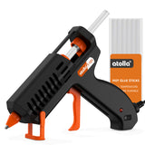 atolla 35W Mini Hot Melt Glue Gun Kit with 10 pcs Glue Sticks(T101)