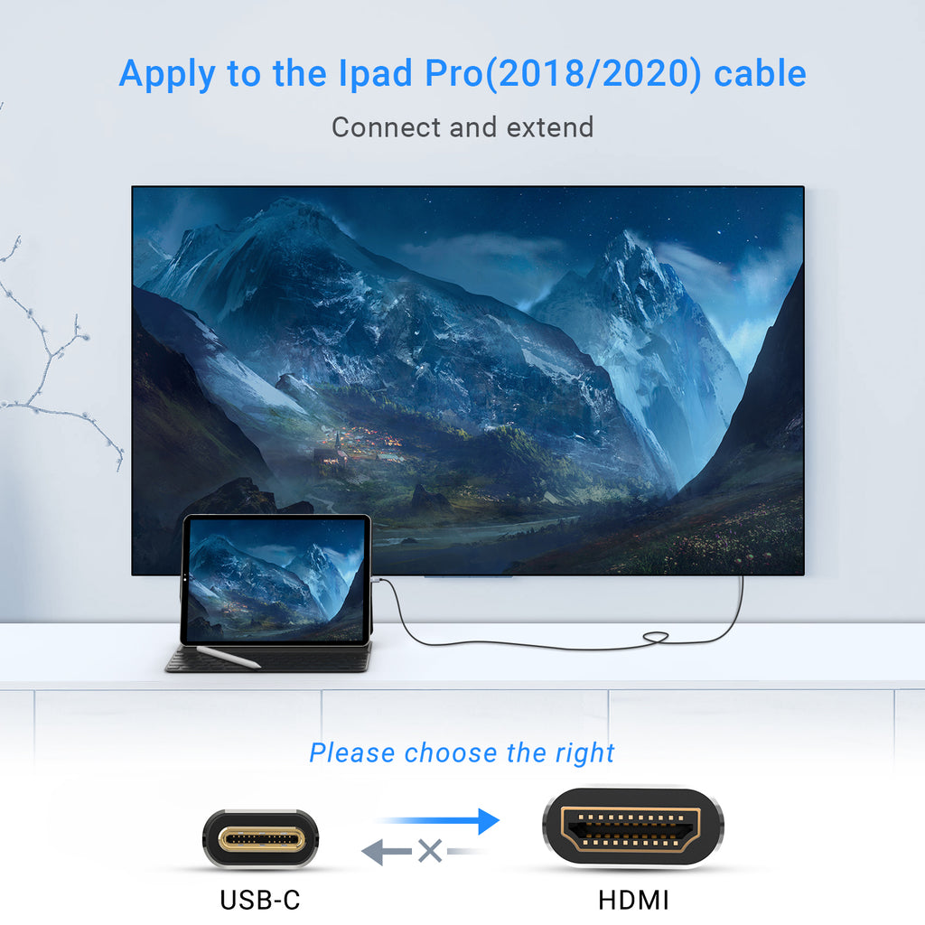 USB C to HDMI Cable[6ft]