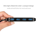 4 Port USB 3.0 Ultra Slim Data Hub (1103)