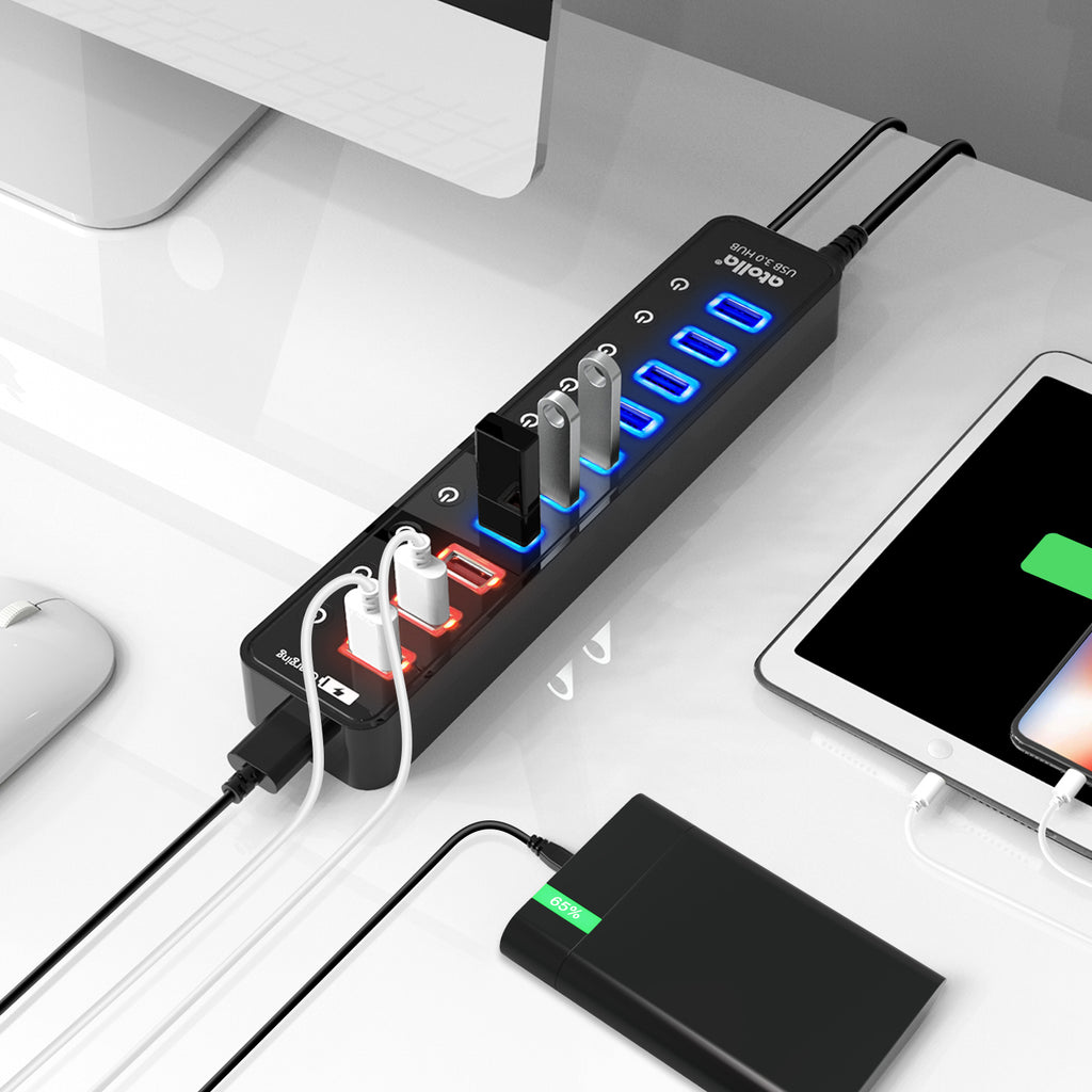 atolla 11-Port USB 3.0 Hub (210)