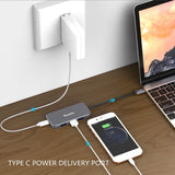 7 in 1 USB C Hub USB 3.1 Dock Station (C4)