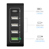 40W 5 Ports Multi USB Charging Station (Q2)