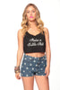 Raise a Little Hell Crop Tank
