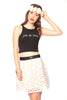 Joie De Vivre Sleeveless Crop Top