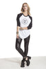 Rebel Redefined Raglan Tee