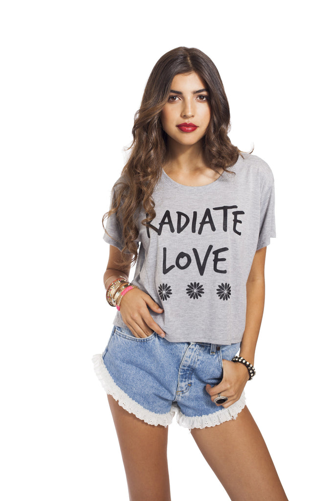 Radiate Love Loose Tee