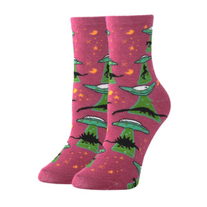 Alien & Dinosaur Novelty Socks