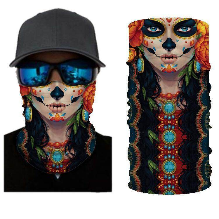 Cool Girls BANDANAS HEADBAND SHIELD UNISEX NECK GAITER FOR OUTDOOR SPORTS