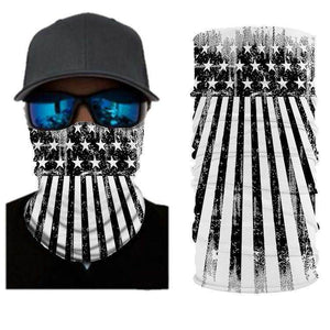 American Flag BANDANAS HEADBAND SHIELD UNISEX NECK GAITER FOR OUTDOOR SPORTS - Best Compression Socks Sale