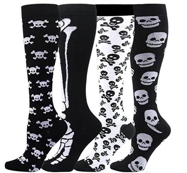 Halloween Compression Socks Support 20-30mmHg-For Men and Women-Workout And Recovery