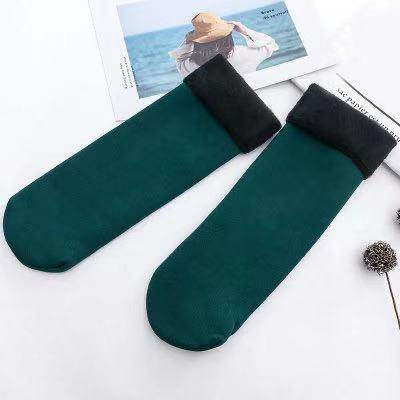 Winter Warmer Thicken Thermal Wool Cashmere Snow Socks Seamless Velvet Boots Floor Sleeping Socks For Men & Women