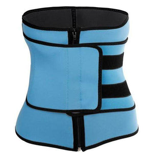 Neoprene Waist Trainer Compression Sauna Sweat Fitness Velcro & Zipper