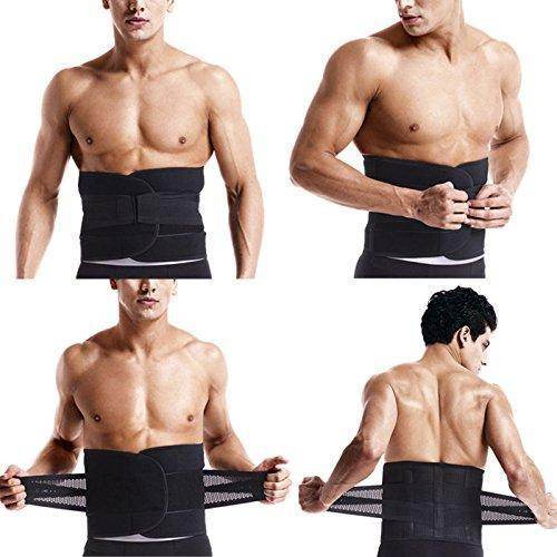 Waist Trainer for Men - Sweat Belt - Burn Stomach Fat! - Best Compression Socks Sale
