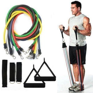 ResiBands™ Fitness Resistance Band Set - Best At Home Gym | Designer Dresses & Accessories | My Lebaz