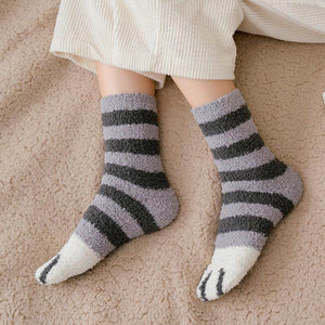 Cute Cat Claw Socks