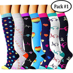 Best Compression Socks (7/8 Pairs) for Women & Men
