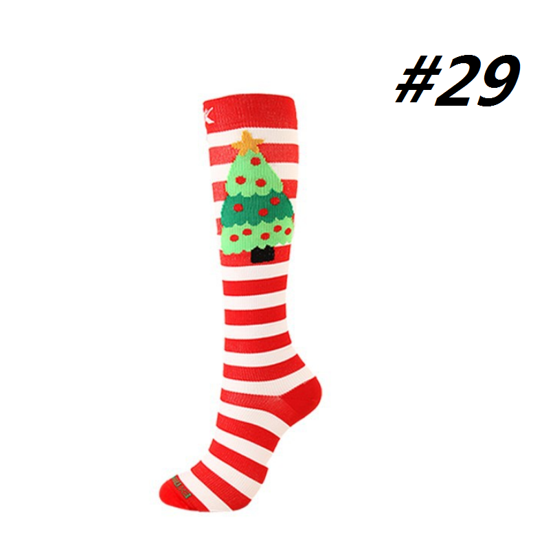 Christmas Compression Socks (1 Pair) for Women & Men #29 - Best Compression Socks Sale