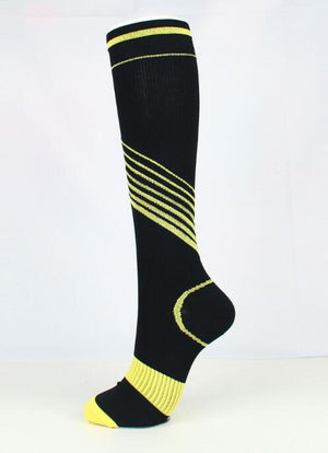 The Latest Color Bar Compression Socks 15-30mmHg For Workout And Recovery-Men And Women.