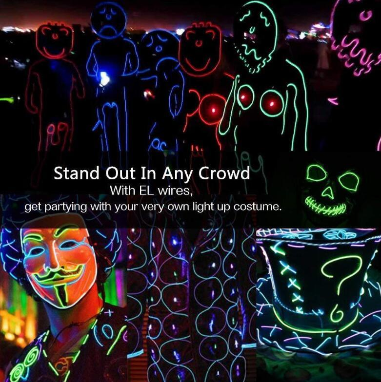 Up to 50% OFF-RGB COLOR LIGHT UP LED STICK FIGURE KIT