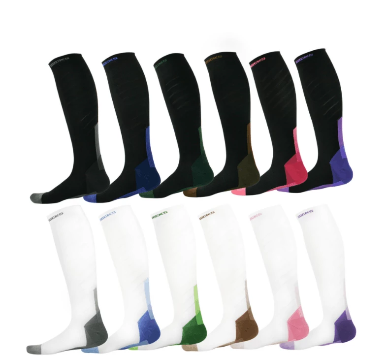 High-quality Medical Compression Socks-20-30 mmHg Support  for men and women-Workout and Recovery.