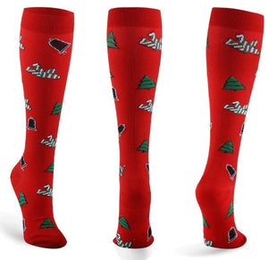 Latest Christmas Compression Socks Support 20-30mmHg-For Men and Women-Workout And Recovery
