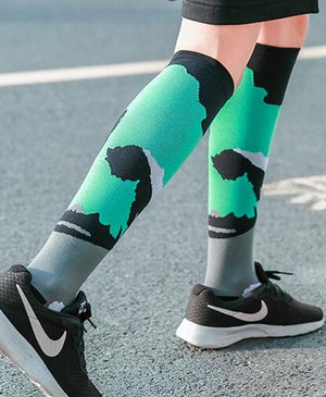 The Latest Men's Compression Socks for Foot and Leg Support 15-30mmHg Everyday.