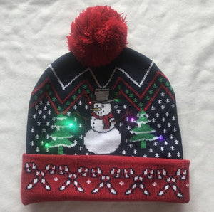 SOMIX Christmas LED Beanies