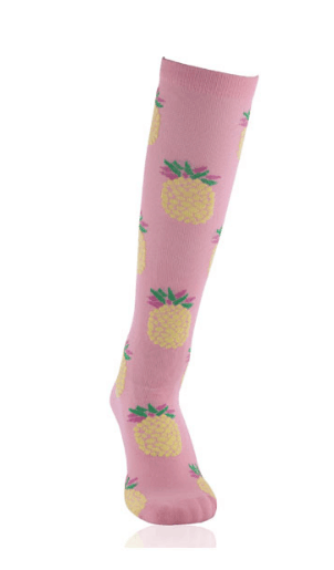 The Latest Cute Fruit Design Compression Socks 15-30mmHg-Workout and Recovery.