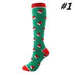 Christmas Compression Socks (1 Pair) for Women & Men #1 - Best Compression Socks Sale