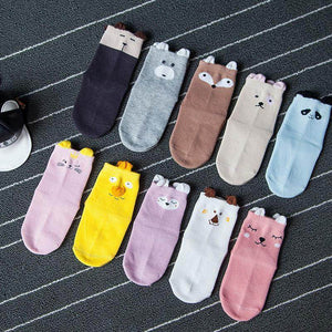 ANIMAL EARS KIDS COTTON SOCKS - Best Compression Socks Sale