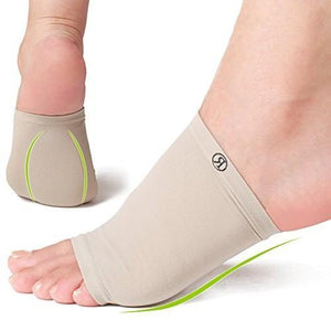 Plantar Fasciitis Arch Support Sleeves Gel Pad Support - Foot & Heal Pain Relief