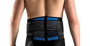 Lower Back Support Brace Double-Pull Neoprene Lumbar Support Belt
