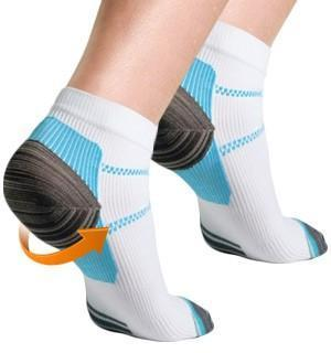 Unisex Ankle-Length Compression Socks (4 Pairs +2 Free Pairs )