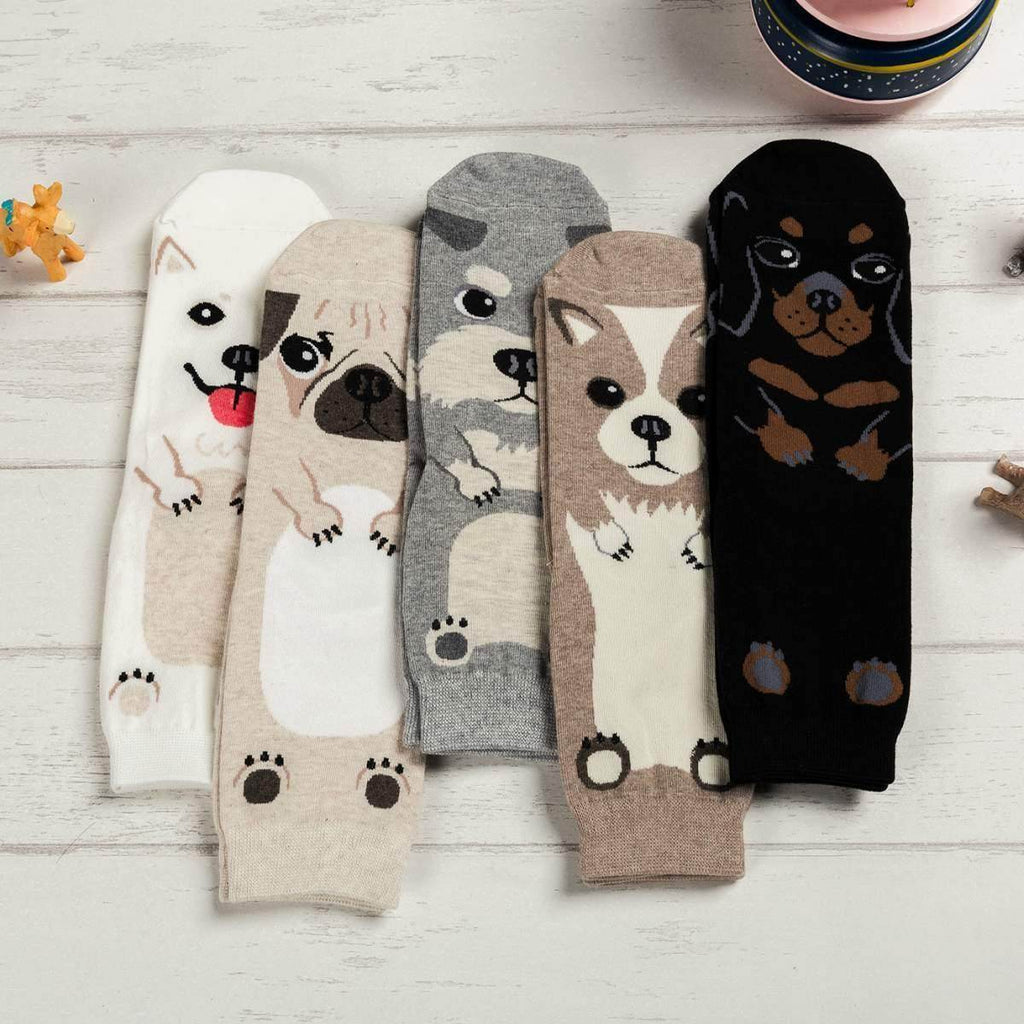 CARTOON DOG BREED SOCKS - Best Compression Socks Sale