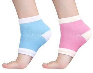 Moisturizing Spa Gel Heel Massaging Socks - Fix Dry & Cracked Feet