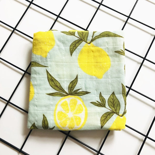 newborn  organic cotton bamboo baby blanket muslin swaddle wrap feeding burpy towel scraf bibs muslin big diaper
