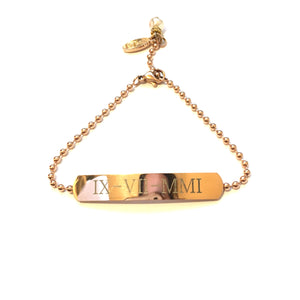 Personalised Chain ID Bracelet