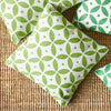 Handmade Kashmir Wool Cushion in Light Green 50x50cm with or without insert