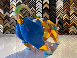 Limited Edition- Hand Painted Sculpture by Artist Bull