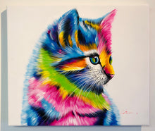 "Load image into Gallery viewer, Color Kitten - 24"" X 20 1/2"""