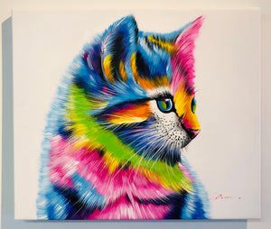 "Color Kitten - 24"" X 20 1/2"""