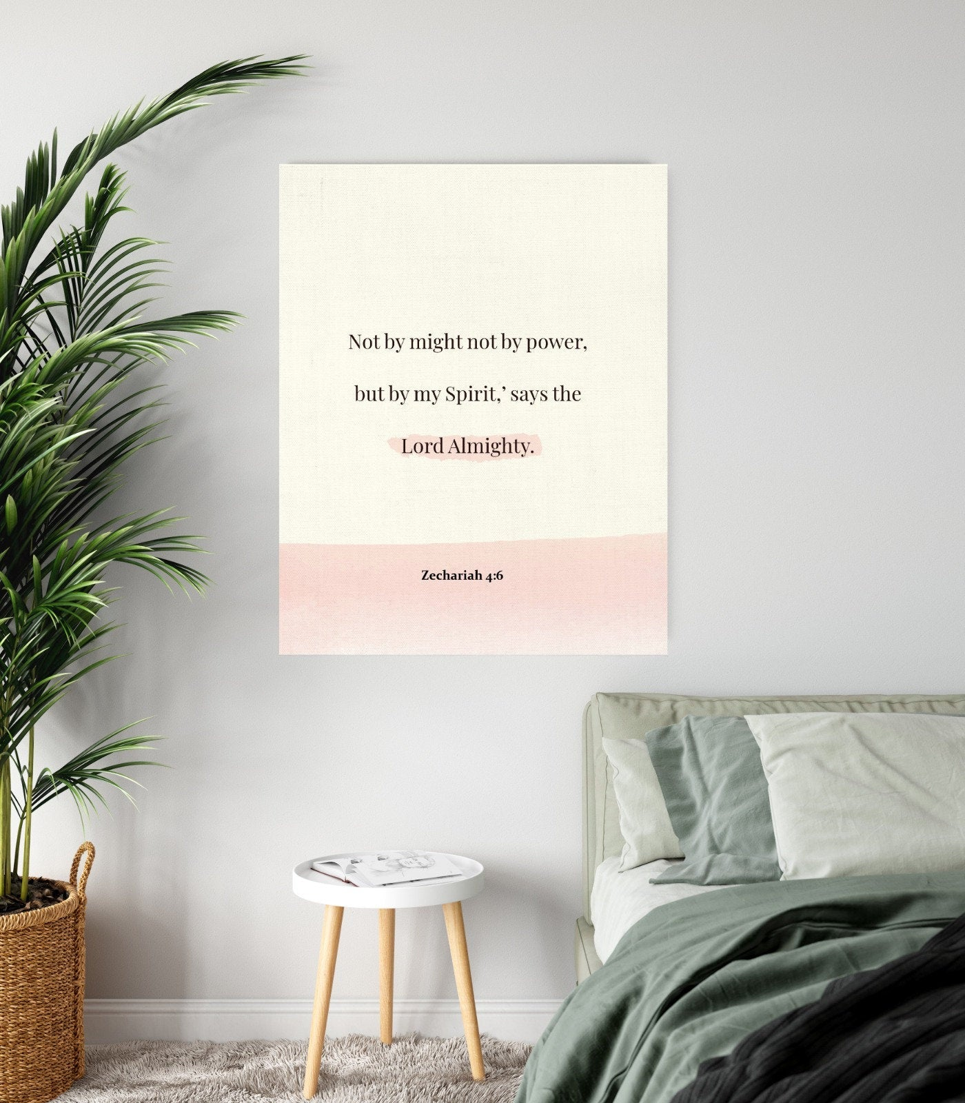 Biblical Verse Wall Art Canvas Decor Christian Home Decor Gifts for All Occasions. Explore Now!