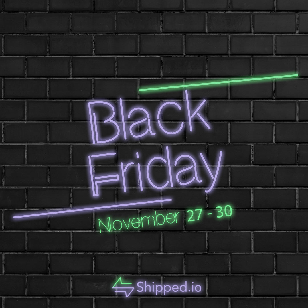 Why Shop Black Friday and Cyber Monday on Shipped.io?